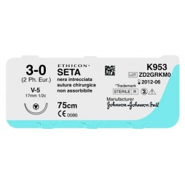 SUTURE IN SETA ETHICON V-5